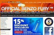 Official Benzo Fury latest victim of domain suspension